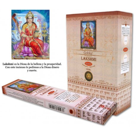 Incienso Goloka Lakshmi
